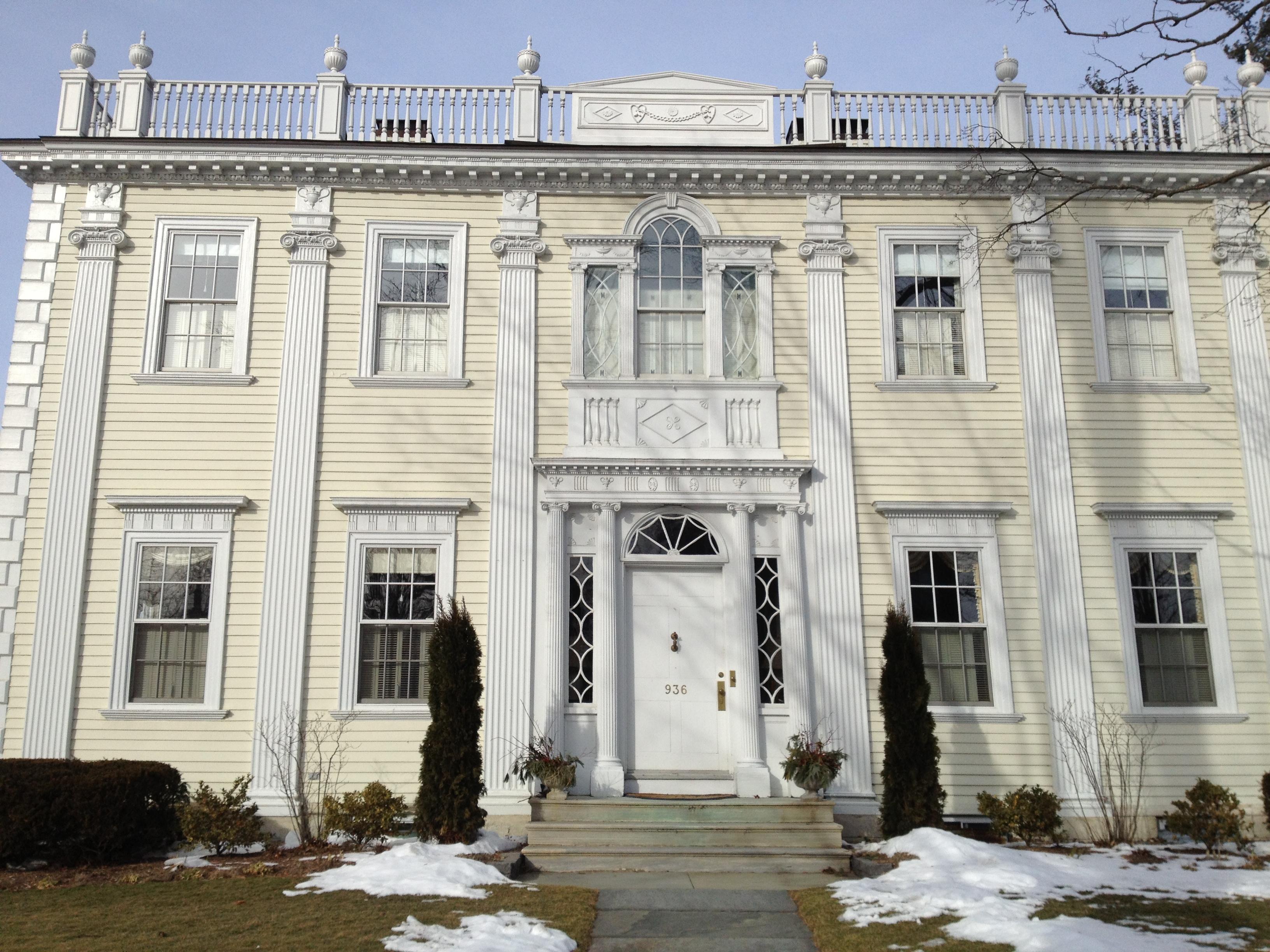 House Facade 3. Celebrating the Palladian Window   Design First Berkshires